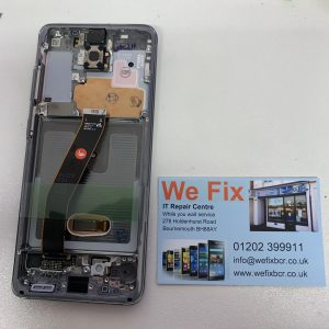 image of Samsung S20 Service Pack Screen