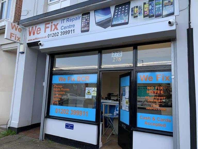 image of We Fix BCR Shop Front