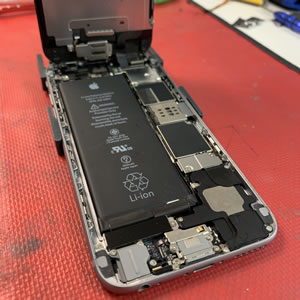 iphone open for battery