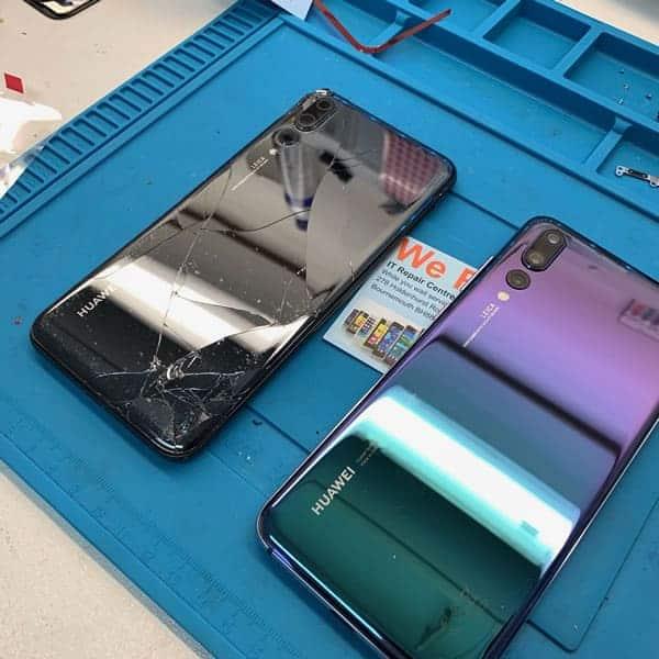 Huawei P20 Pro Cracked Back Repair