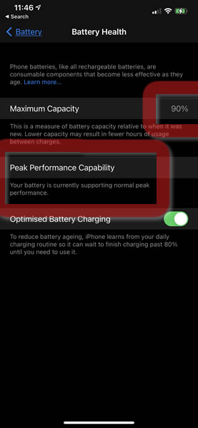 Check your Battery Health
